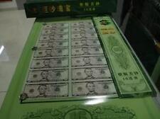 USA $5 Uncut Banknote 16-in-1 in tube (UNC)  5美元 16连体整版钞 巨钞瑰宝, Free Pos Laju