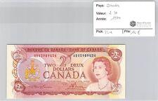 BILLET CANADA - 2 DOLLARS 1974 **