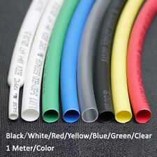 7*1M/Color Φ4mm Heat Shrink 2:1 Shrinkable Tubing Tube Sleeving Car Wrap cable