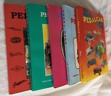 Vintage Pedal Cars Trucks Airplanes -Makers Dates / Rare 5-Vol Book Set + Values