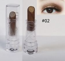 Beauty Smokey Eye Shadow Shimmer Smooth Pencil Makeup Cosmetic color Bronze #02