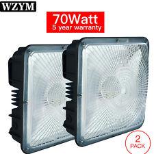 2 Pack 70Watt LED Canopy Light,110V to 277V Input,Commercial Residential Lights