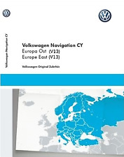 Mise à jour V13 Europe de l'Est(2015) pour VW Rns 510, 810