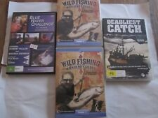 Fishing DVD set-Henry Gilbey,Deadliest catch Season 1 and Blue water Challenge