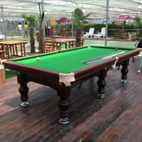 21 Oz Pool Table Felt - Billiard Cloth - 10FT Priced Per Foot Choose From Gree