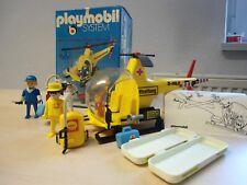 "Playmobil klicky set 3247 ""ADAC helicóptero usado"""