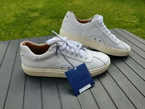 Polo Ralph Lauren Court 100 Lux Sneakers SIZE UK 7 EU 41 White leatherTrainers