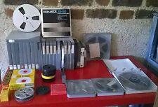 Gros lot Bandes Magnétiques Magnétophone  Vintage  KODAK. UHER POSSO AGFA
