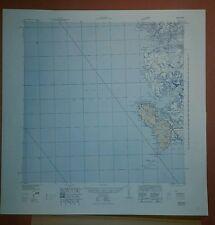 1940's US Army Maps Sierra Leone - 9 sheets 1:250,000 ww 2 vintage military