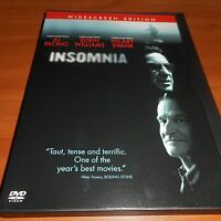 Insomnia (DVD, 2002, Widescreen)