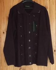 Gilet / cardigan femme marron marque « SALVO GREEN » taille M/L  NEUF étiquette