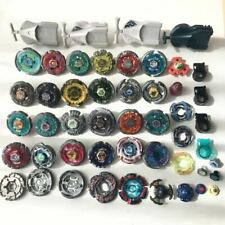 Takara Tomy Beyblade Huge Lot of 26 and parts Rare Metal Fight with Launcher