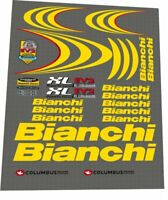 BIANCHI XL EV 2 YELLOW DECAL SET