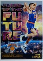 2018 18 NBA Hoops Faces of the Future Winter Kevin Knox Rookie RC #9, Knicks