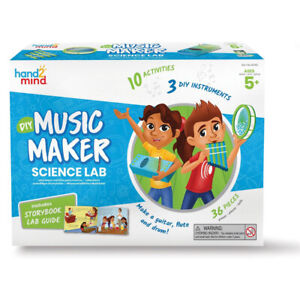 Learning Resources Music Maker DIY Instruments Science Lab Educational Toy 5+yrs