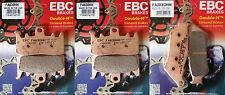 Full Set EBC Sintered Brake Pads for BMW R1200GS 13-18 (2x FA630HH, 1x FA209/2HH