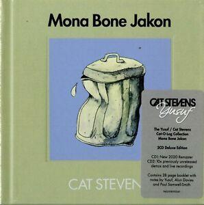 Cat Stevens Mona Bone Jakon 50 Anniversary 2 CD Deluxe Edition Nuovo Sigillato