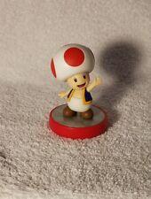 Toad Super Mario brothers series collection Nintendo Amiibo