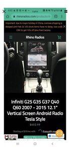 Rhino Radio Compatible With infiniti G35/g37/q20 And Q60 2005-2015 Models