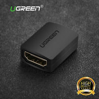 Ugreen 2pcs Extender HDMI Female to Female Coupler Adapter Connector 1080P HDTV