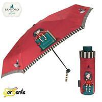 Santoro Gorjuss ombrello pieghevole da borsetta