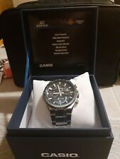 Casio Edifice Men's Wristwatch with Blue Dial - EQB501DB-2A solar $90