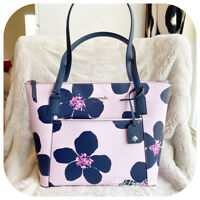 KATE SPADE CAMERON POCKET TOTE  GRAND FLORA BAG IN SERENDIPITY PINK MULTI