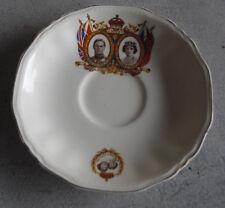 Vintage 1939 Meakin Queen Elizabeth Canada Visit Teacup Plate