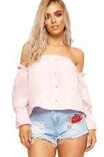 Altro maglie da donna rosa in cotone