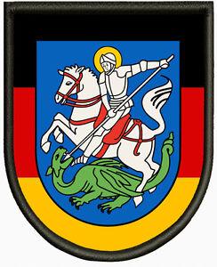 Wappen von Hattingen  Aufnäher, Pin, Aufbügler