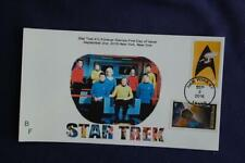 Star Trek Enterprise in Logo Stamp Combo Fdc Bullfrog Sc#5132 11564 W/4528