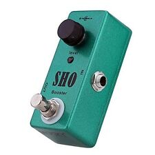 Mini Guitar Effect Pedal SHO booster Upgraded ZVEX SUPER HARD ON True bypass