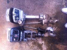 outboard motor/boat moto evinrude/johnson 6 hp wrecking parts selling tiller arm