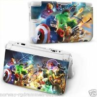 NEW LEGO MARVEL-HEROES AVENGERS HARD CASE COVER For NEW Nintendo 3DS-CONSOLE,