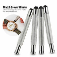4 Sizes Watch Crown Winder Winding Watches 3-4.5mm Manual Mechanical Repair Tool