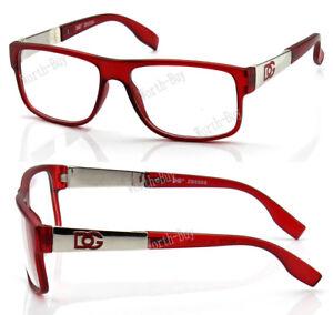 New WB Men Women Clear Lens Eye Glasses Designer Frame Optical RX Fashion Square