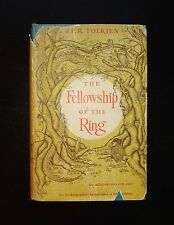 1954 THE FELLOWSHIP OF THE RING 1st US Edition First Printing, Map, DJ, Tolkien