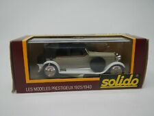 Solido Age d'Or Hispano Suiza 1:43