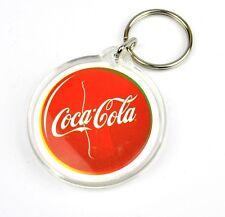 Coca-Cola Coca Cola USA Catena chiave Key Chain Anello Portachiavi rotondo