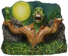 "PENN PLAX 4"" ZOMBIE RISING FULL MOON - TANK ORNAMENT DECOR. TO USA"