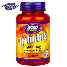 NOW Tribulus 90 Tabl. Testosterone Booster Tribulus Terrestris Anabolic Support