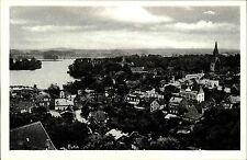 EUTIN Holstein um 1940 alte s/w Postkarte ungelaufen Teilansicht Panorama Blick