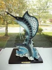 Blue Marlin Gift Of Time 13'' Decoration