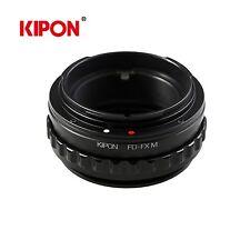 Kipon Adapter W/ Helicoid Macro Tube for Canon FD Lens to Fuji FX X-Pro1 Camera