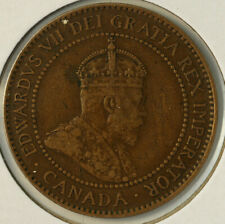 1906 Nice Canada Large Cent Km 8 FREE SHIPPING