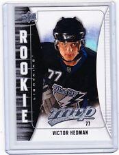 09-10 2009-10 UPPER DECK MVP VICTOR HEDMAN ROOKIE RC 387 TAMPA BAY LIGHTNING