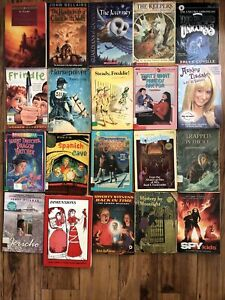 Lot of 20 Chapter Children Young YOUTH RANDOM UNSORTED BOOKS MIX Exlib # 6