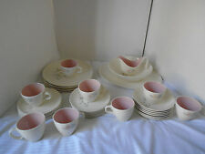 33 Piece Vintage Taylor Smith & Taylor Forever Yours Spring Glory China Dishes