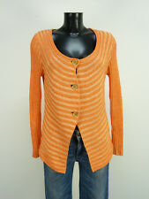 BIBA STRICKJACKE GR M / ORANGE & TREND - CHIC   ( N 7857 )