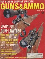 Guns & Ammo August 1965 New Pro-Gun Campaign Launched!